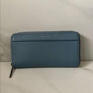Matt & Nat Light Blue Vegan Leather Large Wallet